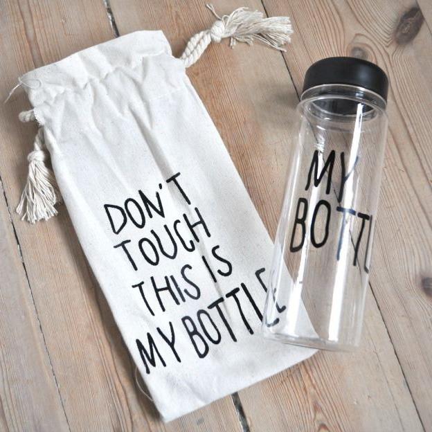 MyBottle бутилка и подарък торбичка