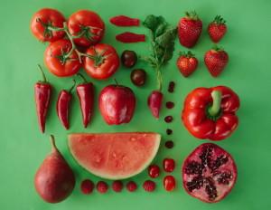 червени храни