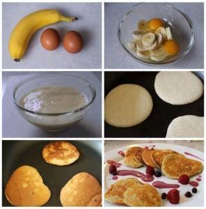 палачинки от банан