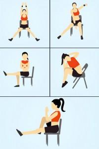 кардио тренировка в офиса