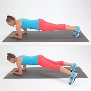 ефективни упражнения за корем