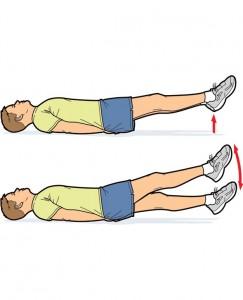 упражнения за коремни мускули
